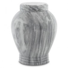 Cashmere Gray Marble Cremation Urn