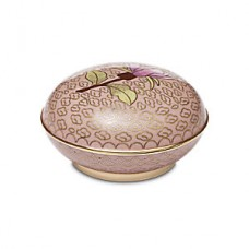 Dusty Rose Cloisonne Keepsake Cremation Urn
