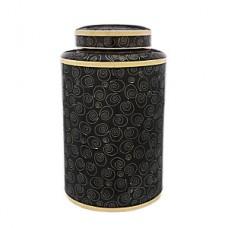 Midnight Swirl Cloisonne Cremation Urn