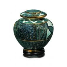 Emerald Anasazi Cloisonne Keepsake Cremation Urn