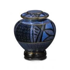 Lapis Anasazi Cloisonne Keepake Cremation Urn