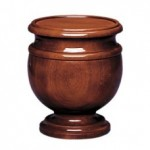Mahogany and Walnut Cremation Urns