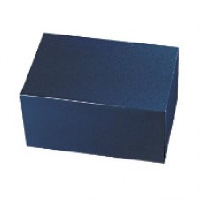 Painted Bronze Chest Blue