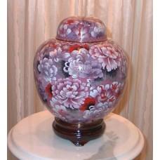 Pink Floral Cloisonne