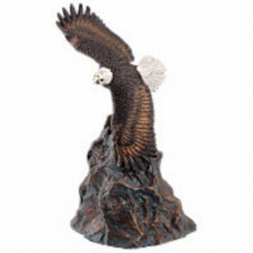 Eagle in Flight Bronze Keepsake Cremation Urn
