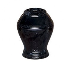Ebony Marble Keepsake Cremation Urn