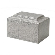 Riverstone Gray Cultured Marble Cremation Urn
