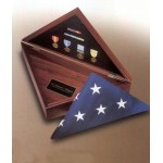 Flag Cases & Veteran Cremation Urns