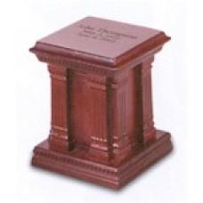 Fredericksburg Miniature Hardwood Keepsake Cremation Urn