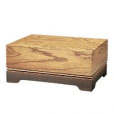 Shaded Oak Cremation Urn