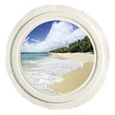 Ocean Reflections Biodegradable Scattering Urn