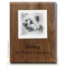 Memorial Plaque Pet Cremation Urn