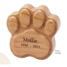 Paw Keepsake Cremation Urn
