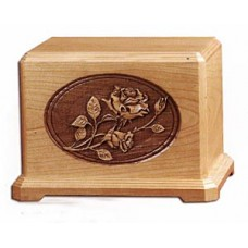 Rose Cherry Cremation Urn