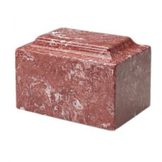 Rose Synthetic Marble Cremation Urn