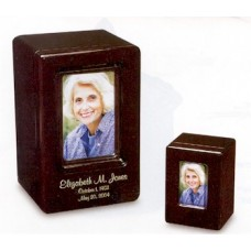 Solaris Keepsake Photo Urn