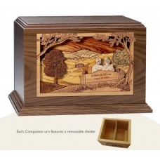 Together at Sunset Companion Cremation Urn