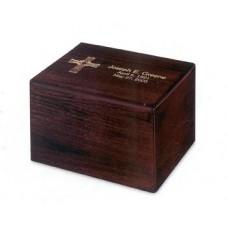 Traditional Hardwood Cremation  Urn