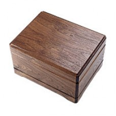 Walnut Memento Cremation Urn